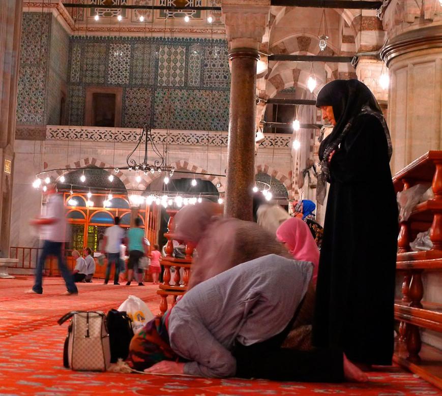 Mujeres en Mezquita