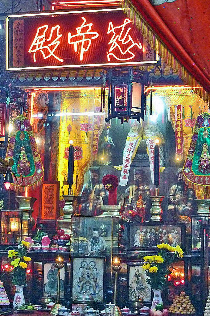No es un puticlú chino; es un templo taoísta