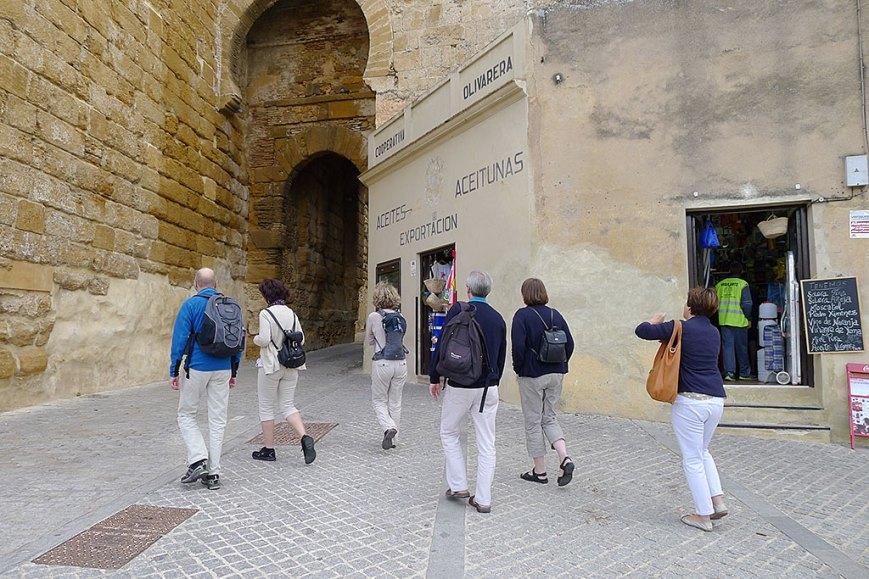Los alemanucos entrando en Carmona