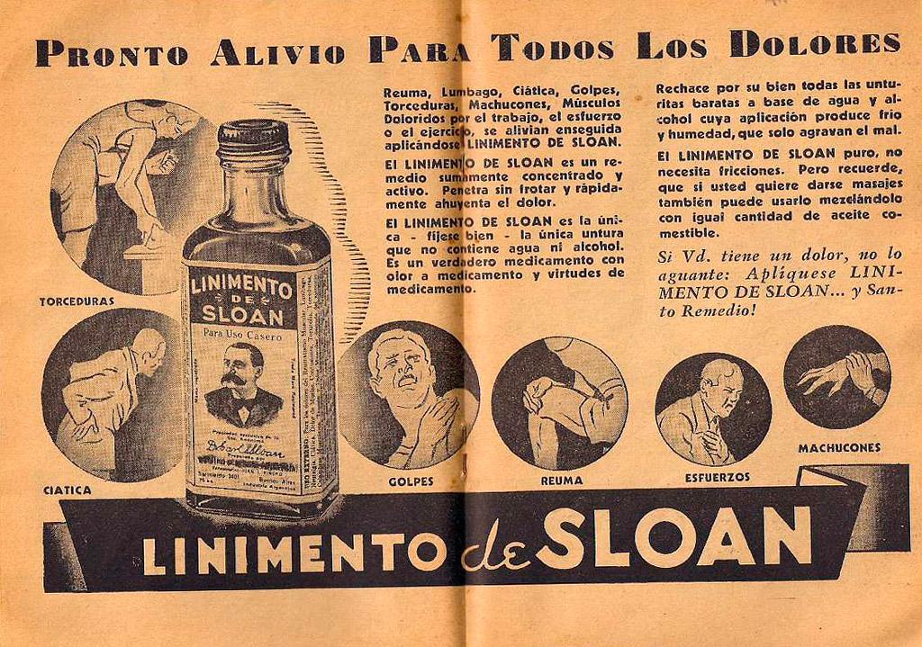Antiguo anuncio sloan
