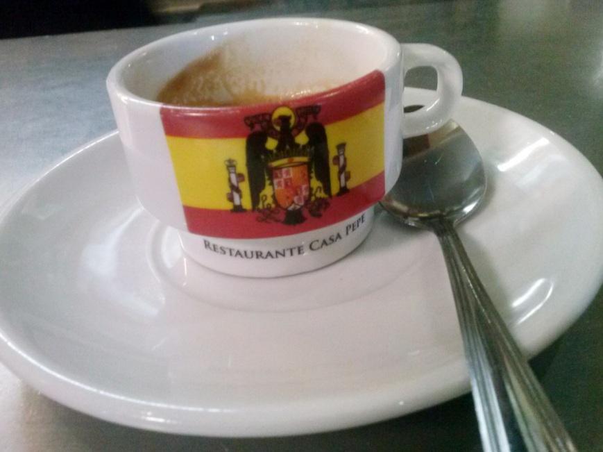 Taza de café casa Pepe
