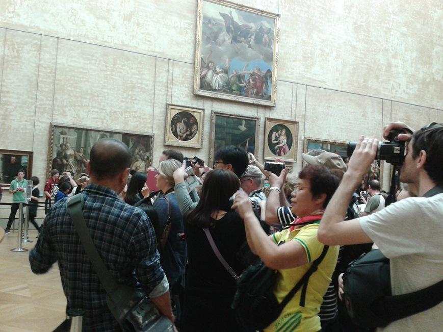 Todos contra la Mona Lisa