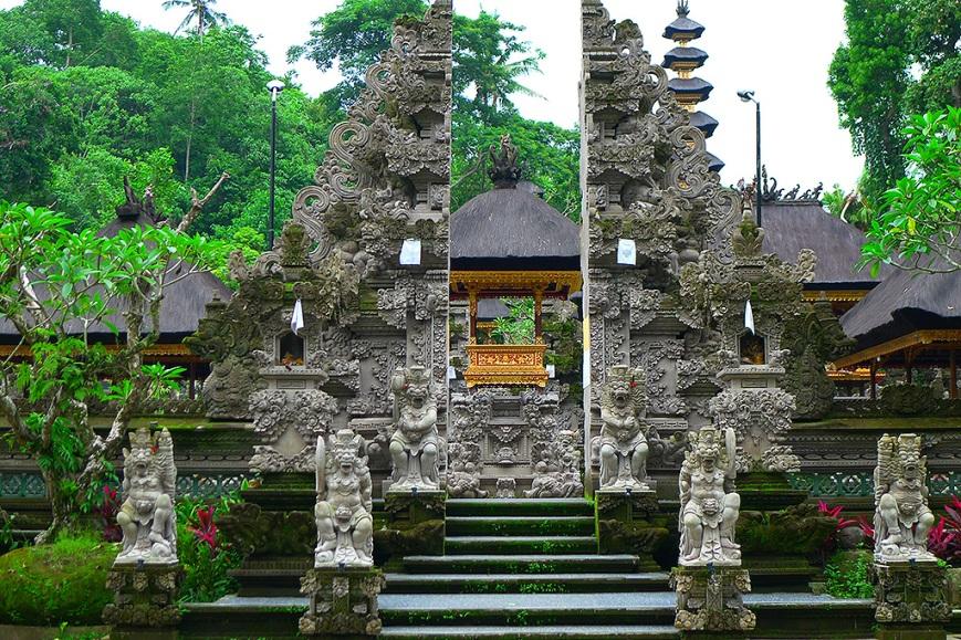 Un templo de Bali